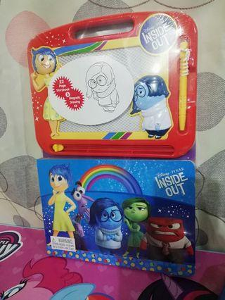 Inside out story book & drawing kit