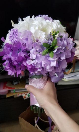[婚禮用] 絲花花球