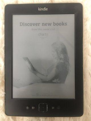 Kindle Gen4 black basic with WIFI