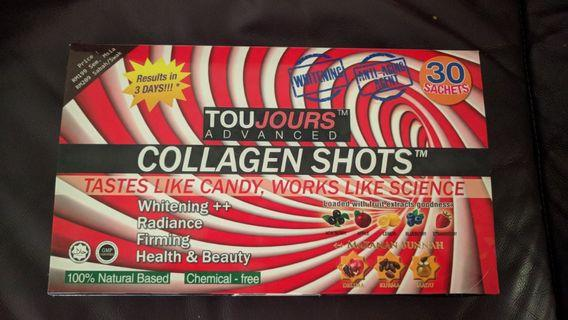 Opened box of Toujours advanced (20sachet inside)