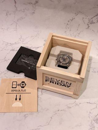 🚚 九成新 seven friday 機械錶
