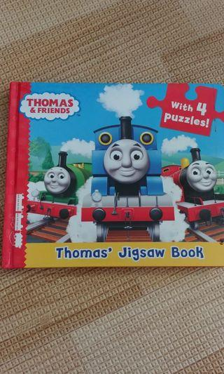 Thomas & Friends jigsaw puzzle book