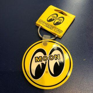 Moon eyes鑰匙圈 黃底