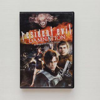 Resident Evil Bio Hazard Damnation capcom DVD