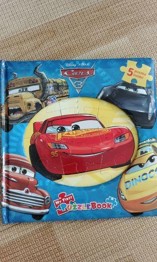 🚚 Cars 3 jigsaw puzzle book