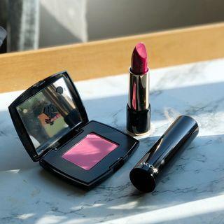 Lancome Rouge Cream Lipstick ROSE 368 Blusher 021 Paradise