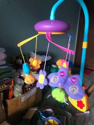 Musikal Baby Box Butterfly