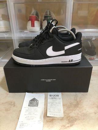 Nike Supreme CDG Air Force 1 US9