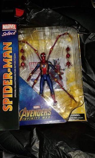 Marvel Select 復仇者3 avengers iron spider 蜘蛛俠 spiderman