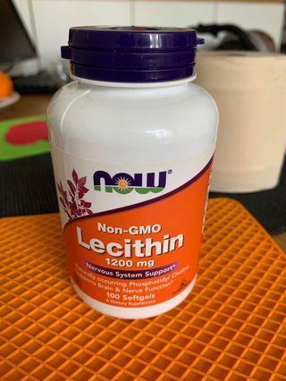 NOW Lecithin 卵磷脂