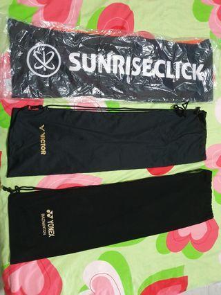 Badminton racket cloth bags