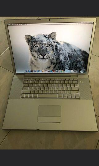 MacBook Pro15 inch core2 duo