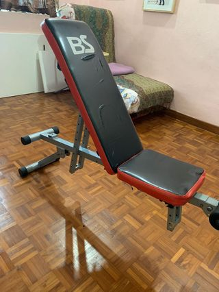 Peachy Premium Gym Bench Sports Weights Gym Equipment On Carousell Short Links Chair Design For Home Short Linksinfo