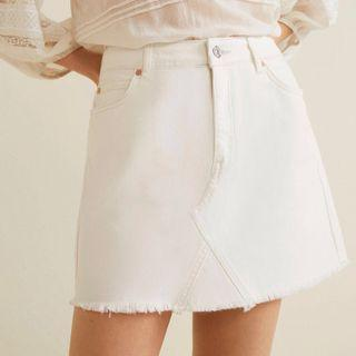 Mango Organic Cotton Denim Skirt [NEW]