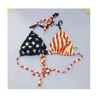 Stars and Stripes Bikini Top