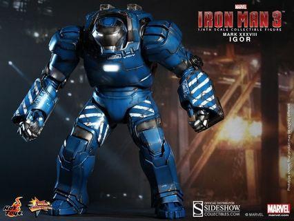 🚚 Hot toys Igor n striker