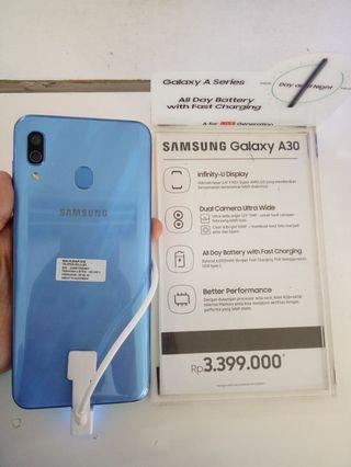 Samsung Galaxy A30 bisa kredit promo bunga 0%