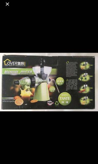 Juice and Food Processor with electric free 95% new