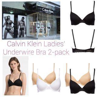 【預購】💋Calvin Klein Ladies' Underwire Bra🏄♀1 Set 2-pack