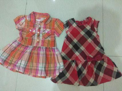 Dress usia 1-3 tahun