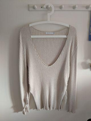 Bec and Bridge Deep V Knit