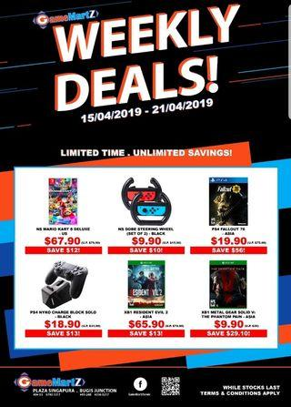 [Weekly Deals!] From 15 April 19 to 21 April 19