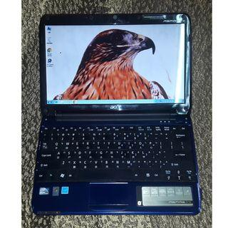 Acer Aspire one AO751h-52Bb 11.6吋筆記型電腦(藍)