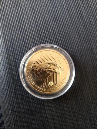 1oz 99999 Royal Canadian Mint Gold Coin