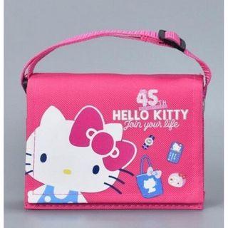 🚚 Hello Kitty 限量45週年書包零錢包-單售