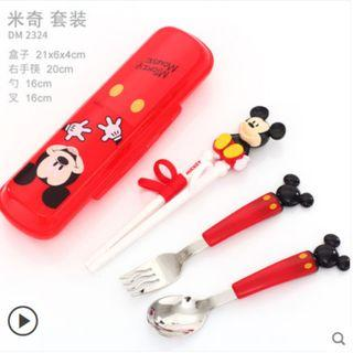 🚚 [PO] Disney Training Chopsticks
