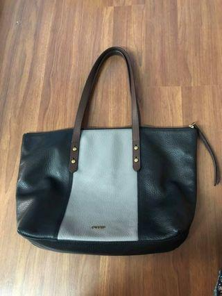 Preloved Fossil Satchel
