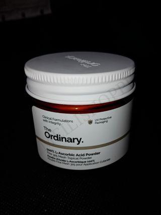 The Ordinary 100% L-Ascorbuc Acid Powder