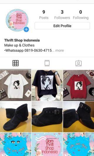 Thrift Shop Indonesia (preloved and new)