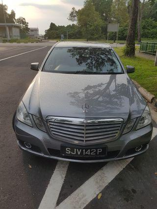 E300 premium vehicle for rent