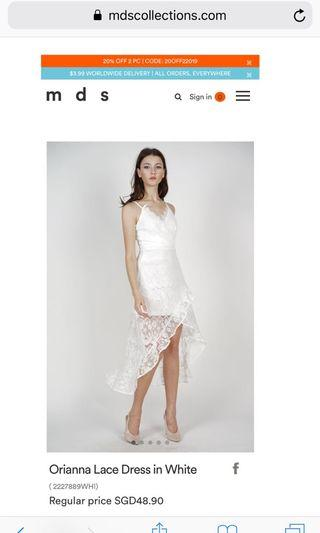 MDS Orianna Lace Dress