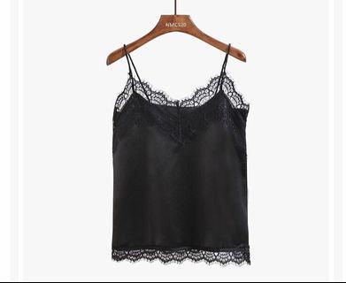 BN Black Lace Camisole