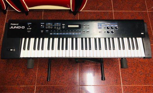 🚚 Roland Juno-d 合成器 電子琴