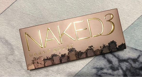 Urban Decay Naked Palette 3 100% real & new