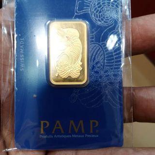 PAMP 24k-10g -(999.9) Purity -S$585