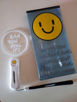 """CAN YOU FEEL IT?"" HIGHLIGHT OFFICIAL LIGHTSTICK (pad ver.)"