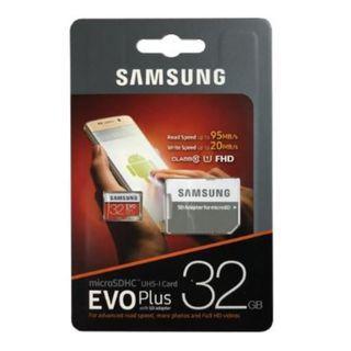 Samsung EVO Plus 32GB mircoSD Card