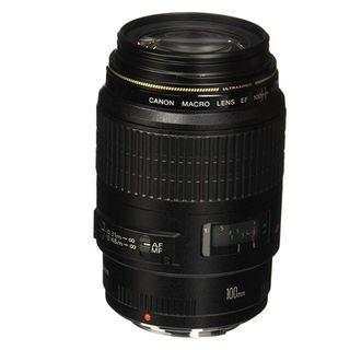 2 Used Lenses 50mm USM 1.4 plus 100mm 2.8 Canon