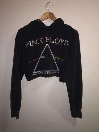 Pink Floyd Cropped Hoodie