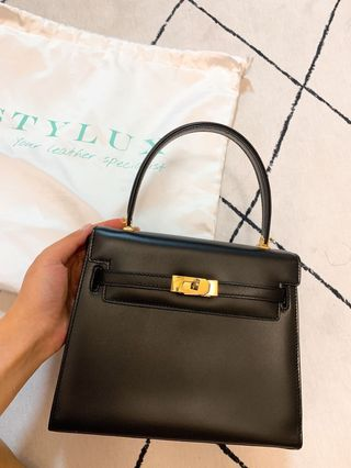 0469ce4e9eeb (Hermes kelly同款) Bally vintage kelly bag