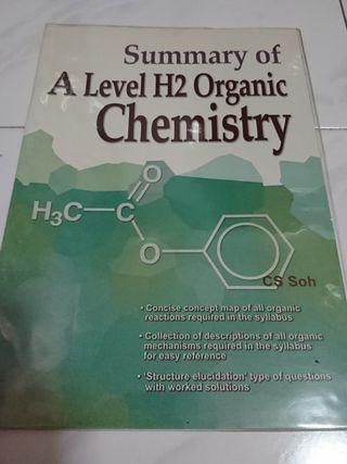 🚚 A level H2 Organic Chemistry