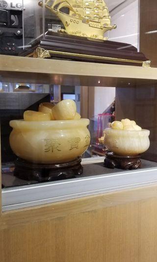 寶蓮禪寺 黃玉 聚寶盤