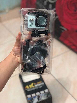 Camera sport waterprof new sisa jualan