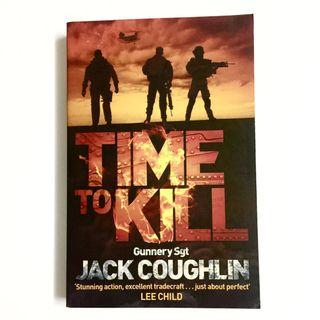Time To Kill by Jack Coughlin (thriller terrorist novel book)