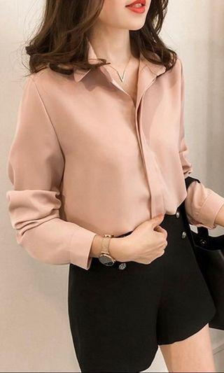Casual Blouse - Pink