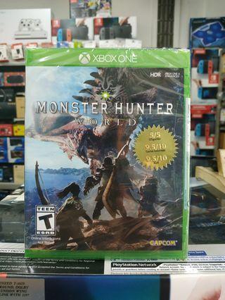 🆕 Xbox One Monster Hunter World